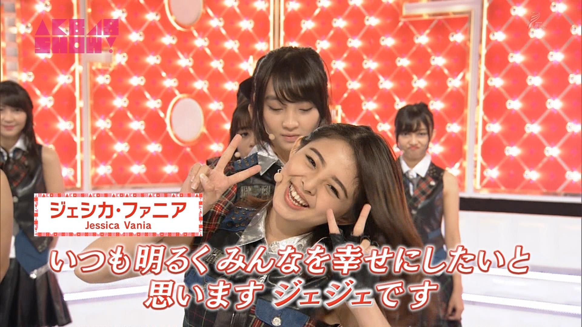 【本日23時15分〜】JKT48がAKB48 SHOW!に初出演YouTube動画>5本 ->画像>54枚