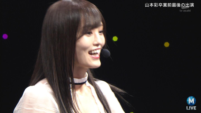 【NMB48】卒業の山本彩、最後の『Mステ』 「泣けてくる」「あの演出はやばい」感動の声続々 YouTube動画>1本 ->画像>63枚