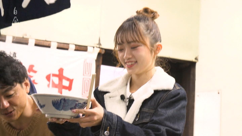 NGT48中井りかの飯の食い方が何か汚らしい